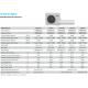 Daikin 15,000 btu 20.6 SEER Heat Pump & Air Conditioner Ductless Mini Split FTXS15LVJU / RXS15LVJU