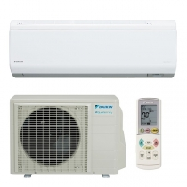 Daikin 12,000 btu 24.2 SEER Heat Pump & Air Conditioner Ductless Mini Split Quaternity FTXG12HVJU / RXG12HVJU