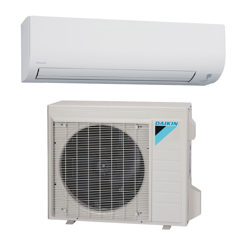 Daikin 12 000 btu 15 seer heat pump air conditioner for Ductless ac