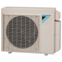 Daikin 18,000 btu 18.9 SEER Dual Zone Heat Pump & Air Conditioner Ductless Split MXS 2MXS18NMVJU Series Condenser