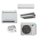 Daikin 24,000 btu 17.9 SEER Up to 3 Zone Heat Pump & Air Conditioner Ductless Split MXS Series 3MXS24NMVJU Condenser Unit Only
