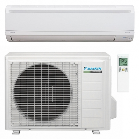 daikin 12 000 btu 23 seer heat pump air conditioner ductless mini split ftxs12lvju rxs12lvju. Black Bedroom Furniture Sets. Home Design Ideas