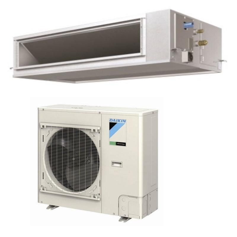 daikin 30 000 btu 16 0 seer cooling only ductless mini split air conditioner fbq30pvju. Black Bedroom Furniture Sets. Home Design Ideas
