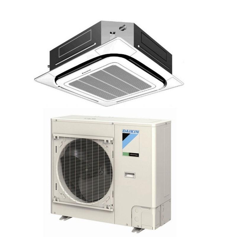 daikin 18 000 btu 17 2 seer cooling only ductless mini split air conditioner fcq18pavju. Black Bedroom Furniture Sets. Home Design Ideas