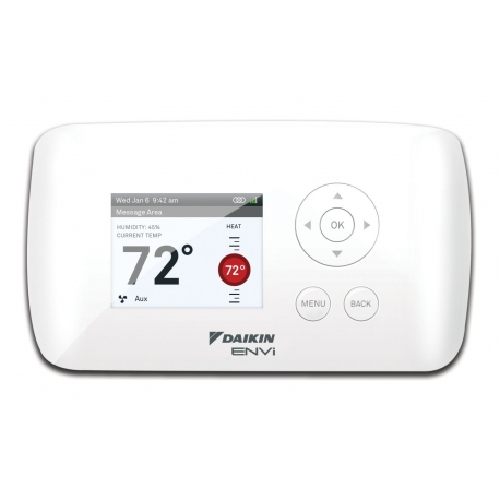 Daikin ENVi Intelligent Wifi Thermostat DACA-TS1-1 w/ backlit color LCD Screen