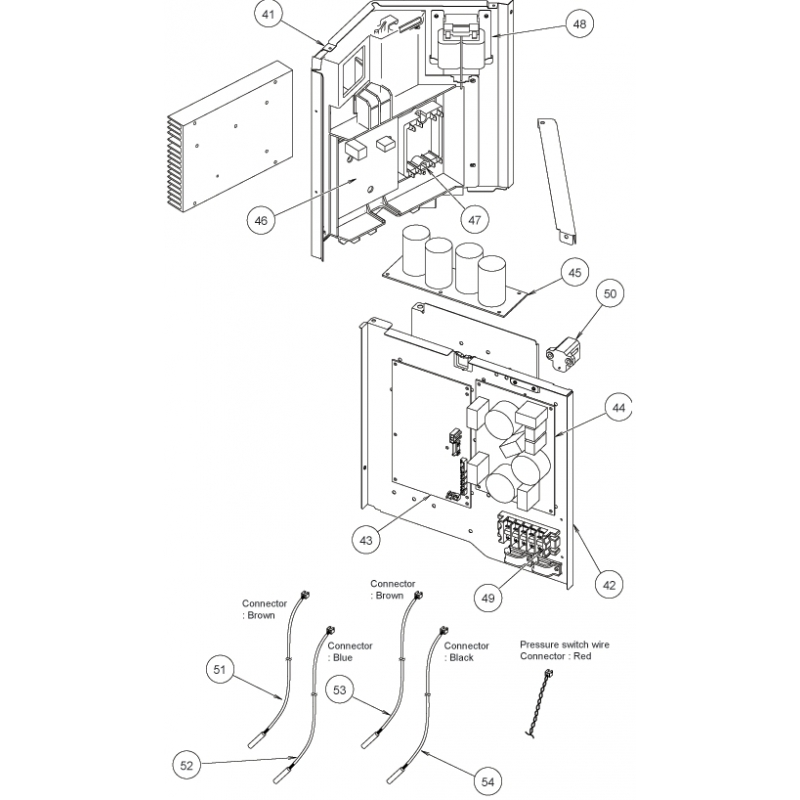 Fujitsu K9707128178 Power Filter Pcb Aou24 30rlxq K05cw