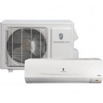 Friedrich MM12YJ 12,000 btu 16 SEER Heat Pump & Air Conditioner Ductless Mini Split MRM12Y1J / MWM12Y1J - 115V