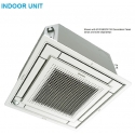 Daikin 9,000 btu 20.9 SEER Heat Pump & Air Conditioner Ductless Mini Split Ceiling Flat Cassette Vista FFQ09Q2VJU / RX09QMVJU