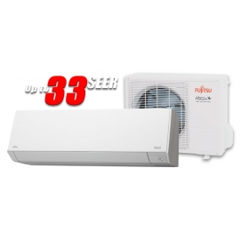 Fujitsu 9RLS3Y 9,000 BTU 33 SEER Heat Pump & Air Conditioner Ductless Mini Split ASU9RLS3Y / AOU9RLS3