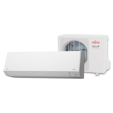 Fujitsu 12RLS3HY 12,000 BTU 29.3 SEER Heat Pump & Air Conditioner Ductless Mini Split ASU12RLS3Y / AOU12RLS3H