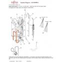 FUJITSU K9900543013 THERMISTOR PIPE RED