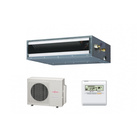 Fujitsu 9RLFCD 9,000 BTU 21.5 SEER Heat Pump & Air Conditioner Ductless Mini Split ARU9RLF / AOU9RLFC