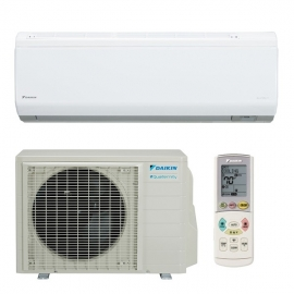 Daikin 15,000 btu 21 SEER Heat Pump & Air Conditioner Ductless Mini Split Quaternity FTXG15HVJU / RXG15HVJU