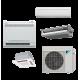 Daikin 18,000 btu 18.9 SEER Dual Zone Heat Pump & Air Conditioner Ductless Split MXS Series Condenser