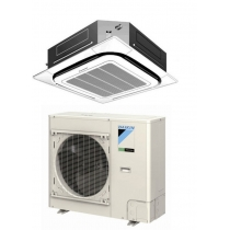 Daikin 24,000 btu 16.8 SEER Heat Pump & Air Conditioner Ductless Mini Split FCQ24PAVJU / RZQ24PVJU9