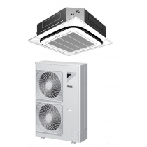 Daikin 36,000 btu 17.5 SEER Cooling Only Ductless Mini Split Air Conditioner FCQ36PAVJU / RZR36PVJU