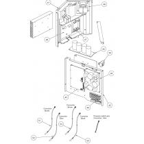 Fujitsu K9707128178 POWER FILTER PCB AOU24/30RLXQ K05CW-0703HUE-FL0