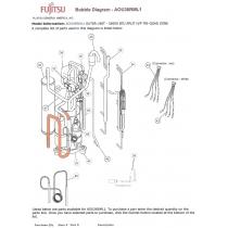 FUJITSU K9900543020 THERMISTOR VALVE PIPE