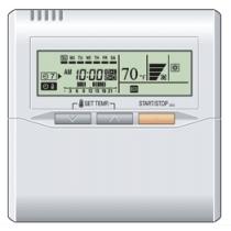 Fujitsu UTY-RNNUM Wired Remote Control