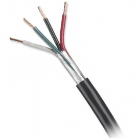 25 feet of HONEYWELL 14/4C POWER & CONTROL CABLE