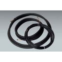 """15 ft. of Mueller 1/4"""" x 1/2"""" mini split lineset with 1/2"""" insulation and 15 ft. of 14/4 communication cable"""