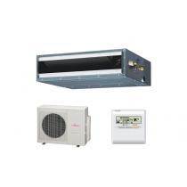 Fujitsu 9RLFCD 9,000 BTU 21.5 SEER Heat Pump & Air Conditioner Ductless Mini Split ARU9RLF / AOU9RLFC