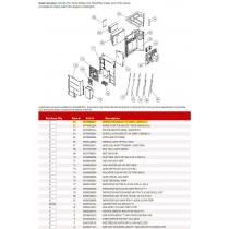 FUJITSU CONTROL PCB 48RLXFZ1 HY K09CM-1200HUE-C1