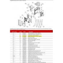 FUJITSU K9708485034 CONTROL I/O PCB 48RLXFZ1 HY K09B1-1200HUE-C1